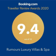 BOOKING.COM 2020 rates rumors 9.4 out of 10 awards