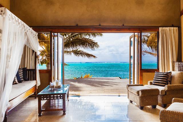 Platinum villa through front door 1