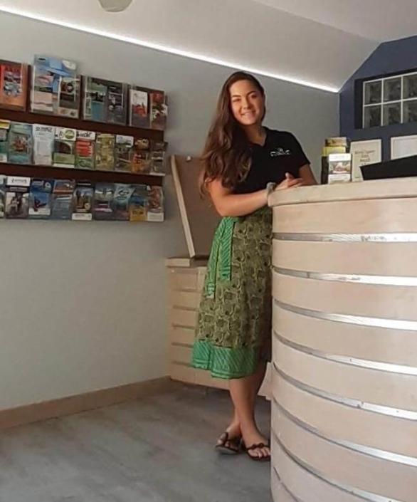 TAYLA Rumours Luxury Villas and Spa Receptionist Desk
