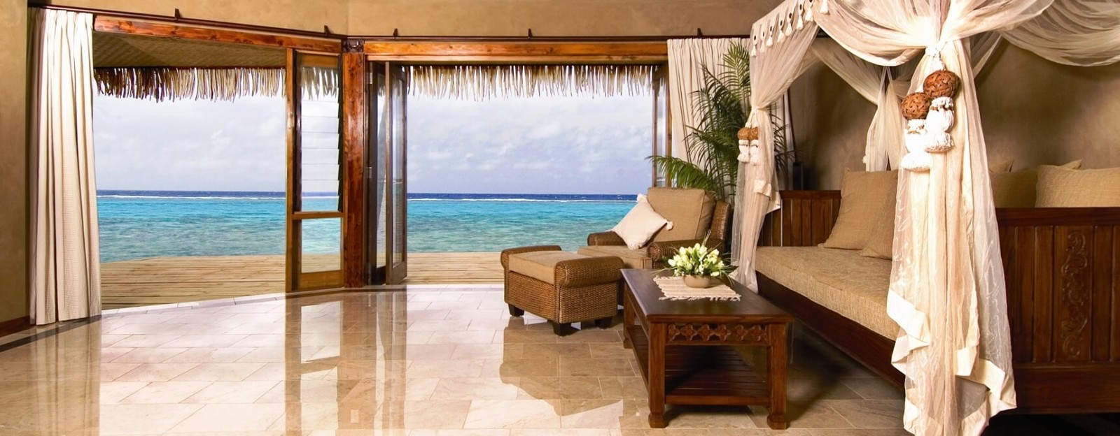 lagoon beachfront luxury villa spa rumours cook island