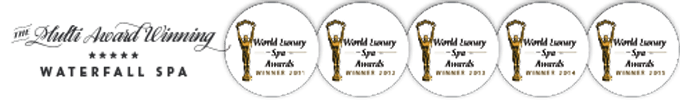 world luxury spa award white background